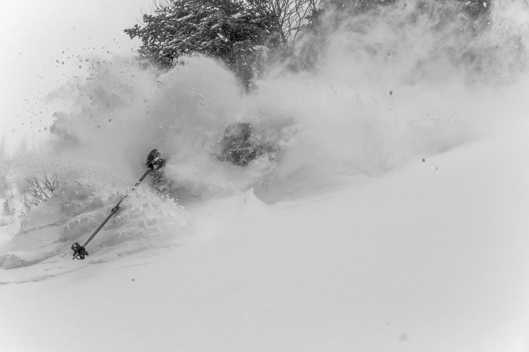 Marcus Caston Skiing Photo: Will Wissman