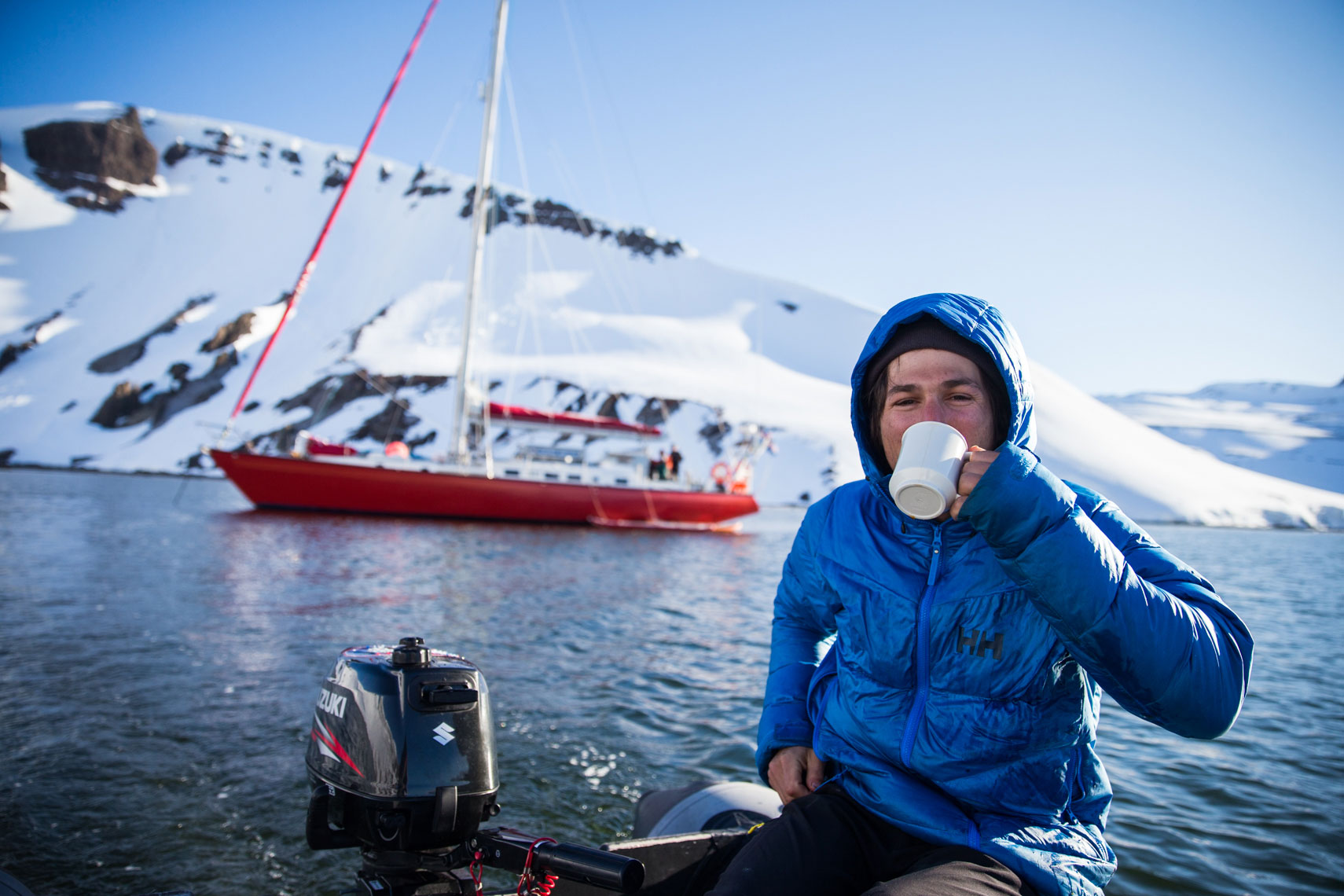 Morning Coffee Iceland photo: Mike Schirf