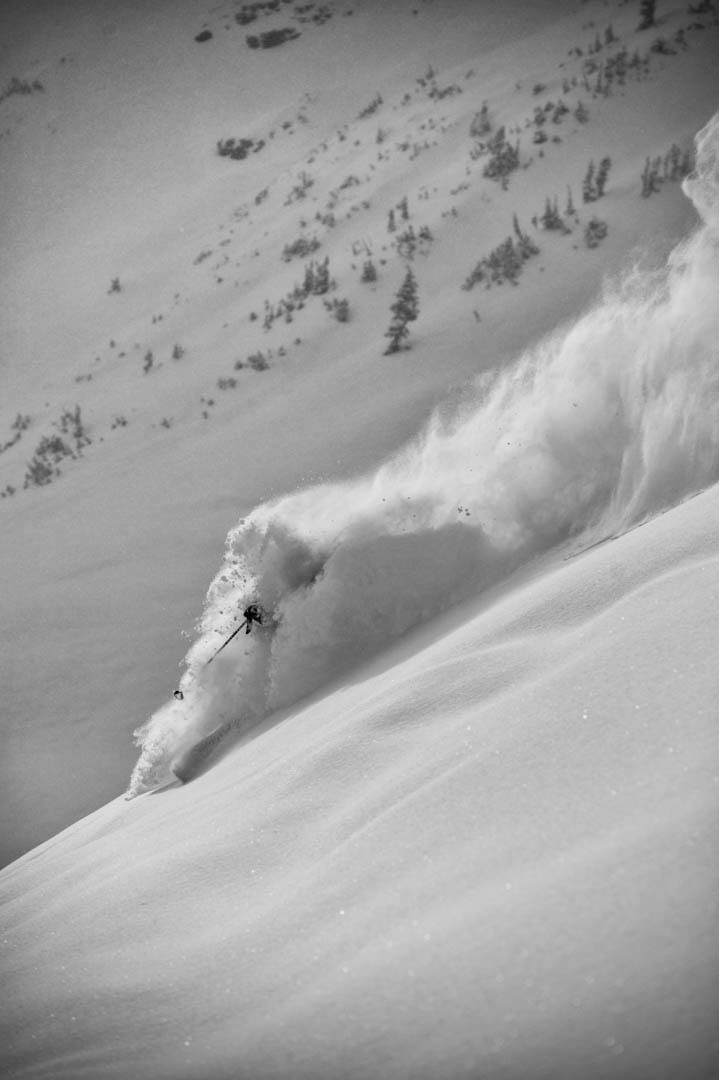 Marcus Caston Skiing Photo: Jay Dash