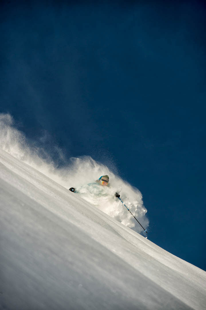 Marcus Caston Skiing Photo: Lee Cohen