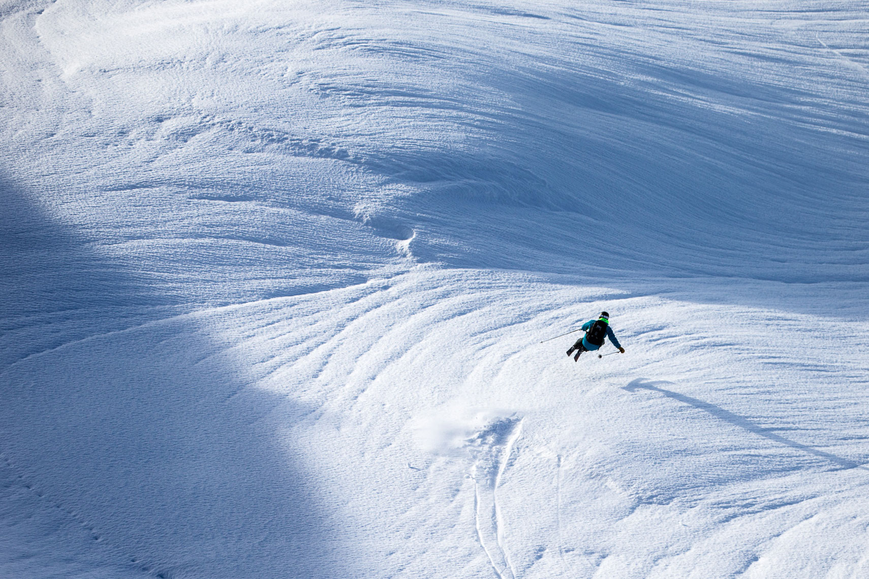 Marcus Caston skiing Whistler Photo: Adam Barker
