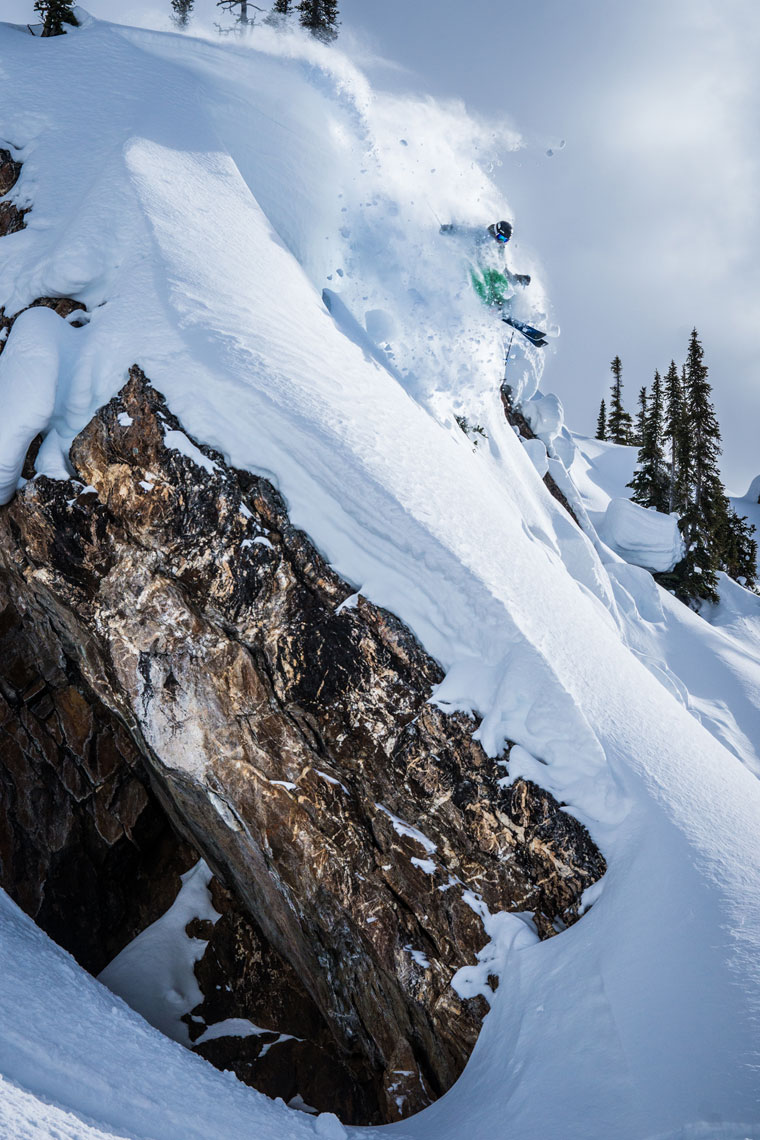 Marcus Caston Skiing Photo: Cam Mcleod